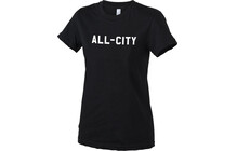 ALL-CITY Womens Cutter T-Shirt Noir